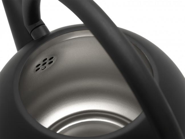 Theepot Duet® Design Saturn mat zwart 1,2L
