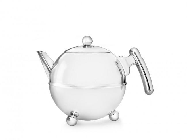 Theepot Duet® Bella Ronde chroom 0.75  liter