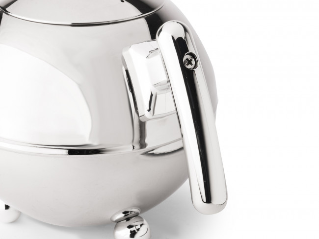 Theepot Duet® Bella Ronde chroom 1.2 liter