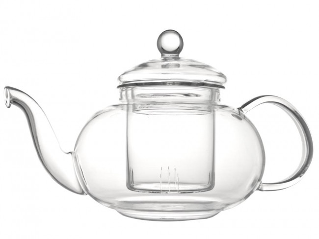 Verona Enkelwandige Glazen Theepot 0,5L