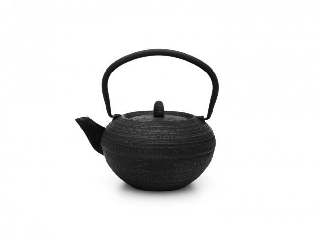 Theepot Tibet 1,2L gietijzer zwart