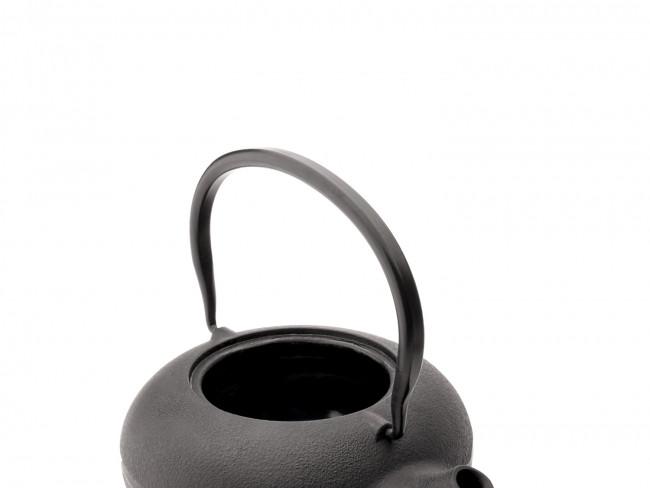 Giftset Shanxi, zwart, met 2 porseleinen mokken