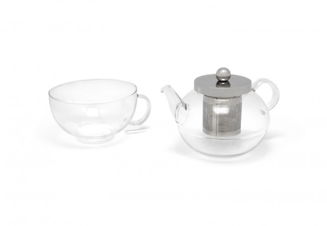 Tea for one Modena enkelwandig glas 500ml