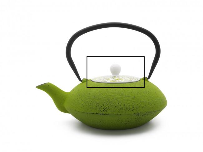Deksel voor theepot Yantai 157000 groen