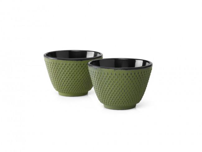 Kopjes Gietijzer S/2 Xilin groen
