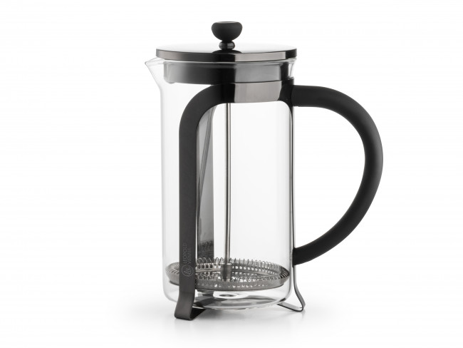 Koffie- & theemaker Shiny Black 1,0L