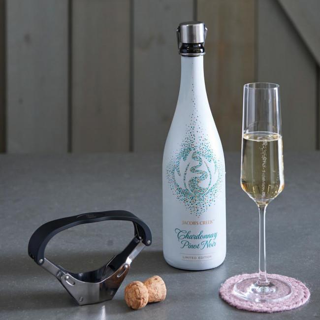 Champagneflesopener Pressa