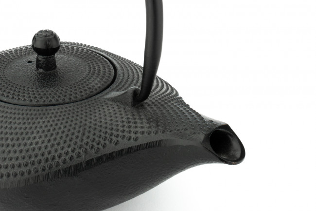 Theepot Aladdin 0,9L zwart, gietijzer