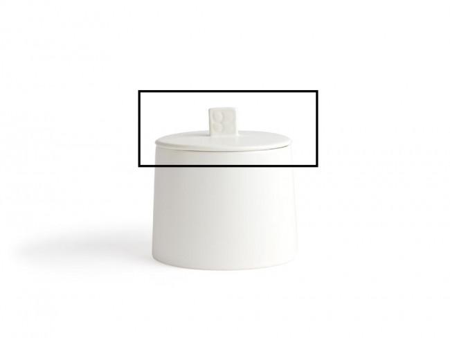 Deksel met siliconen ring voor voorraadpot Lund LD012W