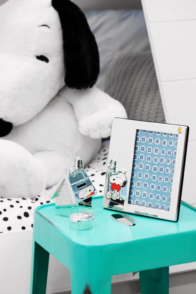 Tanden-/haarlokdoosje Snoopy vz/l