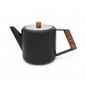 Theepot Duet Design Boston 1,1L mat zwart