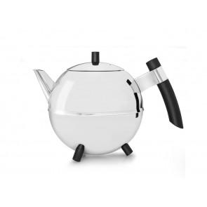 Duet® Design Theepot Meteor, 1,2L, zwart beslag