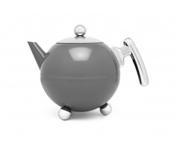 Theepot Bella Ronde 1,2L Cool Grey